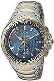 Seiko Men's SSG020 COUTURA Analog Display Japanese Quartz Two Tone Watch