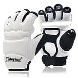 Xinluying Punch Bag Taekwondo Karate Gloves for Sparring Martial Arts Boxing Training Fingerless Women Kids Medium