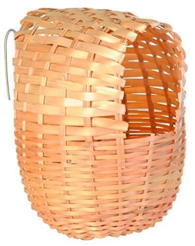Trixie 5605 Exotennest, Bambus, 12 × 15 cm