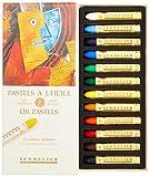 Sennelier Pastels à l'huile INTRODUC 12/PKG, Introductory, Taille unique