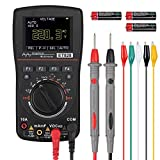 Proster Oscilloscope Multimeter Update 2.5M SPS A/D Intelligent Oscilloscope Multimeter Automatic Range Analog Bar Graph High-Speed Sampling 10M KHz Frequency