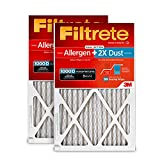 Filtrete AD01PL-2PK-6E MPR 1000D 16x25x1 AC Furnace Air Filter, Micro Allergen Plus, 2-Pack (Holds 2X More Dust), 16 x 25 x 1