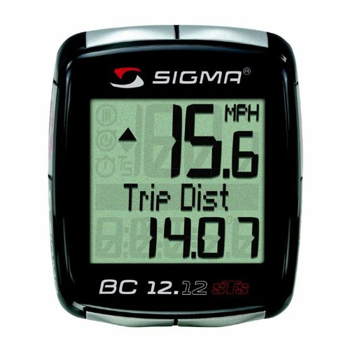 Sigma Sport BC12.12 STS wireless 12 Function Bicycle...