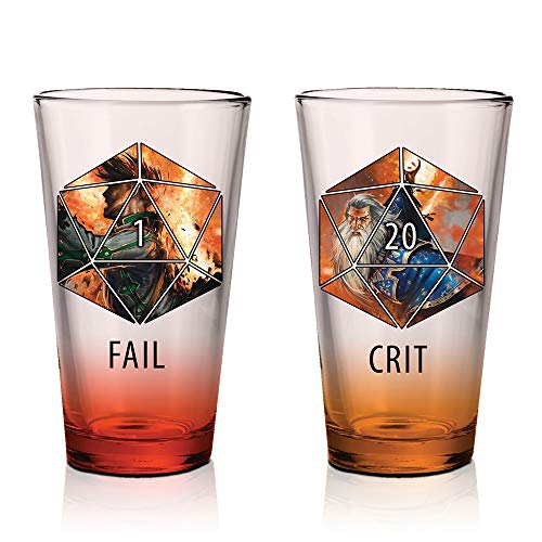 Dungeons and Dragons Pint Glass