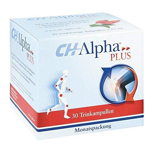 CH-Alpha Plus: Zur Unterstützung der natürlichen Regeneration des Gelenkknorpels, 30 Trinkampullen