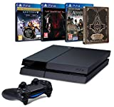 Contenu : Pack PS4 500 Go C Noire + Destiny : Le Roi Des Corrompus Assassin's Creed : Syndicate + Steelbook exclusif Amazon Metal Gear Solid V : The Phantom Pain