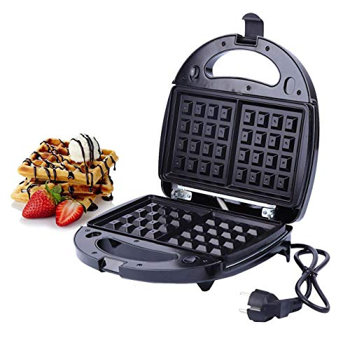 XuanYue Sandwich Toaster Panini Maker Piastre tostapane 3 in 1 Waffles Piastra tostiera con piastra...