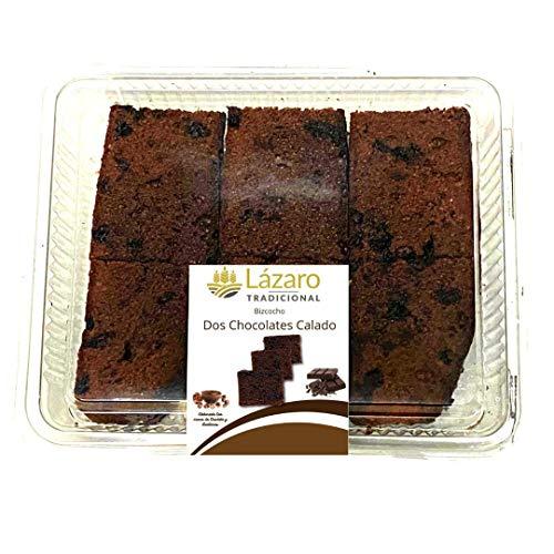 Lázaro Bizcocho Dos Chocolates Calado - 400 g
