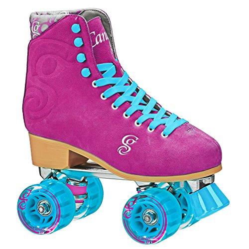 Patins Roller Derby Candi Girl Carlin, Vinho, 37