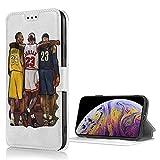iPhoneSE第2世代ケース 手帳型 バスケットボールのスター コービー iPhone7ケース PUレザー 財……