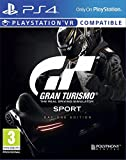 Gran Turismo Sport Game Bonus in game items ($250,000 Credit / Livery Sticker Packs / Chrome Racing Helmet / Set of PS4 Avatars) Drive only the fastest, and most sought after cars in the world 137 of the best cars in the world have made the cut, from...
