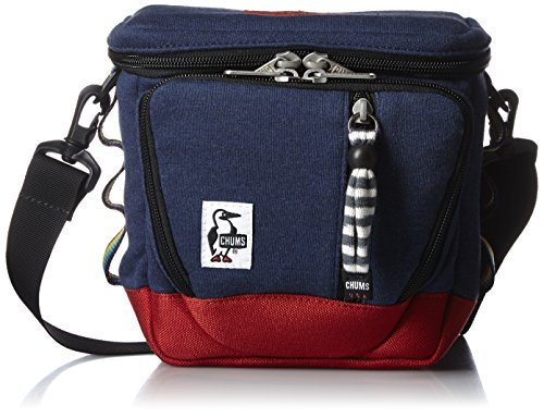 チャムス CHUMS カメラバッグ Camera Bag Sweat Nylon CH60-0698 N031 (H・Navy/Tomato)