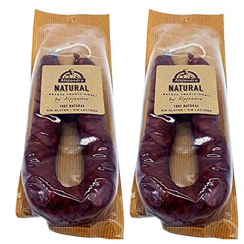Chorizo Natural Embutidos Alejandro - Lote 2 Chorizos Sin Gl