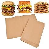 200 Pcs Parchment Paper Baking Sheets, 9x13 Inch Non-Stick Baking Sheet, Heavy Duty Unbleached Parchment Paper, Non-Stick Parchment Sheets for Baking Cookies, Cooking, Air Fryer, Grilling Rack, Oven