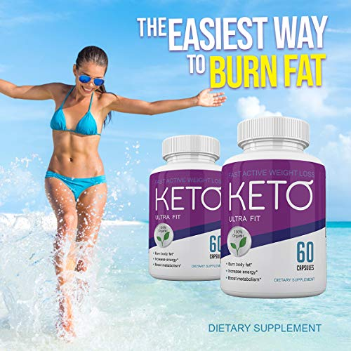 Keto Ultra Fit - Fast Acting Weight Loss with Metobolic Ketosis Support - 180 Capsules - 3 Month Supply 7