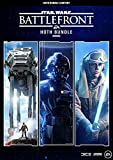 L'ensemble comprend: Star Wars Battlefront Ultimate Edition, Star Wars Battlefront II et Hoth pour Luke, Han et Leia dans Star Wars Battlefront II.