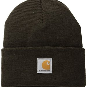 Carhartt Boys' And Girls' Acrylic Watch Hat, Mustang Brown, Youth
