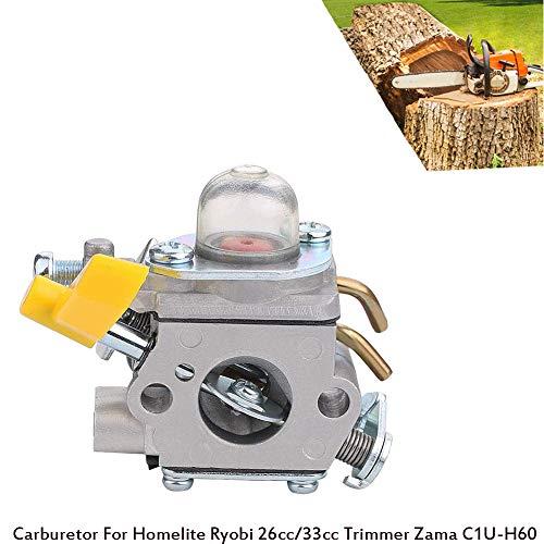 Bestice Ricambio carburatore decespugliatore Ryobi Homelite Zama C1U-H60 26cc 30cc 30cm54013...