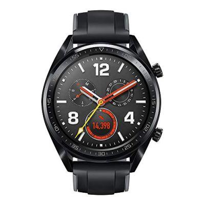 "HUAWEI Watch GT (2018) GPS, Bluetooth Smartwatch, 1.39"" AMOLED, HR Monitor, 2-Week Battery Life, Waterproof, Silicone Strap."