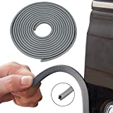Automaze U Shape Car Door Edge Guards Trim Rubber Strip Seal Protector Fit for Most Car, No Glue Required (Grey, 16 ft/m)