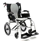 Karman Healthcare S-2512 Ergo Flight Transport Ultra Lightweight Wheelchair Luxury Seat, 18'