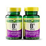 Spring Valley Vitamin B12 Timed Release Tablets, 1000 mcg, 150 Count (Pack of 2, 300 Count Total)