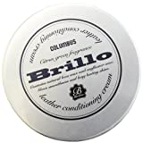 コロンブス COLUMBUS Brillo ブリオ (皮革用ツヤ出しワックス レザー コンディショニング クリーム)(クロス付き) 革 革財布 バッグ・革小物メンテナンス用品