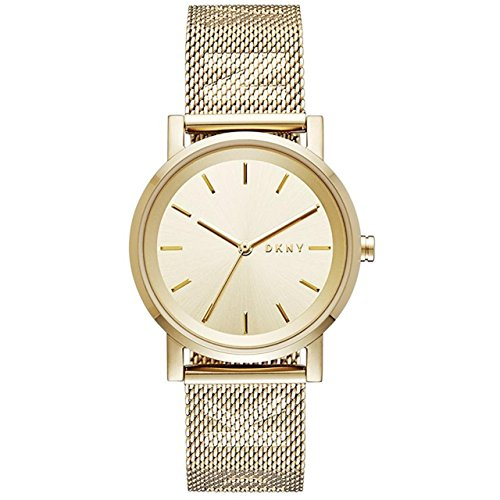 DKNY Damen Analog Quarz Uhr mit Edelstahl Armband NY2621