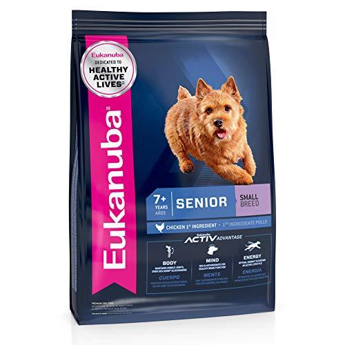 Eukanuba Senior Small Breed Dry Dog Food, 15 lb....