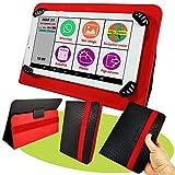 Mobiho Essentiel - La tablette INITIALE 7P avec pochette rouge, l'essentiel...