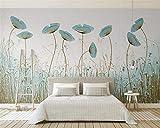 Papier peint intissé tapisserie murales panoramique 3D murale style moderne fleur style tv porche restaurant fond murs papier peint carta da parati