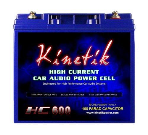 Kinetik HC600 Black Lead_Acid_Battery