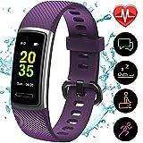 [Aktualisierte 2020 Version] Fitness Armband mit Pulsmesser,IP68 Wasserdicht...