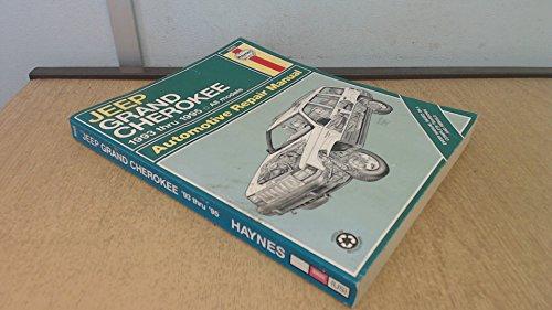 Jeep Grand Cherokee Automotive Repair Manual: 1993 Thru 1995: All Models (Haynes Auto Repair Manual Series)