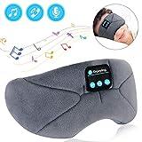 アイマスク 安眠 Bluetooth5.0 アイマスク 睡眠 音楽 アイマスク 遮光 3D立体 USB充電式 昼寝 圧迫感なし快眠 旅行 疲労回復 失眠対策 快眠グッズ ギフトケース包装 父の日ギフト