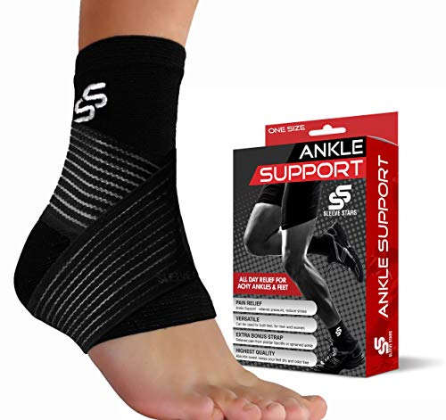 Ankle Brace for Plantar Fasciitis Support - Women & Men – Pain Relief Foot Sleeve (Ankle Brace - Pair)