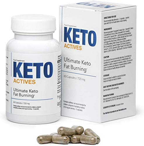 KETO ACTIVES Premium - El mejor ingrediente 100% natural, en