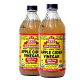 Bragg Organic Apple Cider Vinegar With the Mother– USDA Certified Organic – Raw, Unfiltered All...