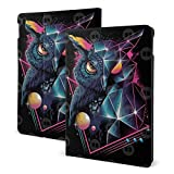 IPad Air (3rd Gen) 10.5' 2019 / IPad Pro 10.5 Inch 2017 Case TPU Protective Case Shell Cover for Apple IPad Air (3rd Gen) 10.5' 2019-Black Night Rad Owl