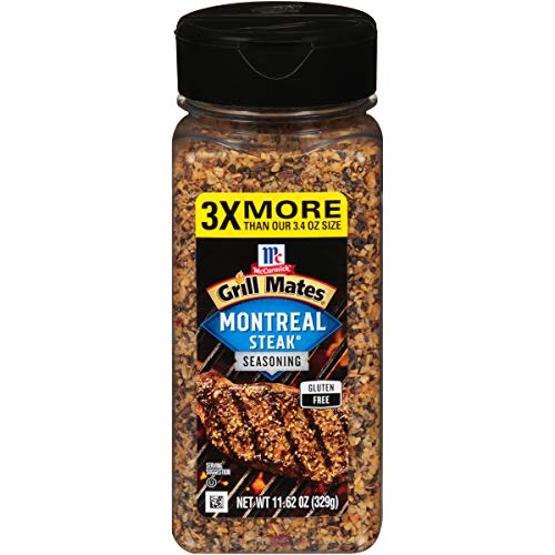 McCormick Grill Mates Montreal Steak Seasoning, 11.62 Ounce (Pack of 1)