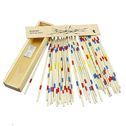 BSA Mikado Juego de Mesa con Caja de Madera Sticks 17.5 cm E