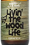 Livin' The Wood Life | Patchouli, Vanilla, Cedar Natural Perfume/Cologne | Essential Oil Spray for Relaxation, Stress, and Meditation | 100% Pure Oils Aromatherapy Mist
