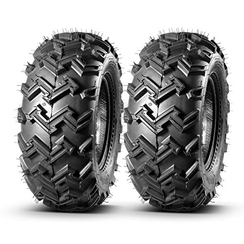 MaxAuto 22x8-10 22x8x10-2 Front ATV Tires,4 Ply Rating Tubeless, Set of 2