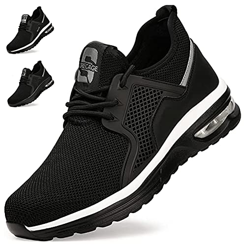 Zapatos de Seguridad Hombre Mujer Zapatillas de Trabajo con...