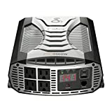 Cobra PRO 2500W Professional Grade Power Inverter, Portable – 2500-Watt Car Charger, 4 Grounded AC Outlets, 2 Fast Charge USB Ports and Remote Controller (CPIALCDG1) Compatible