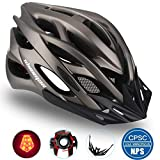 Shinmax Casque de vélo avec Lampe de Sécurité Protection,...