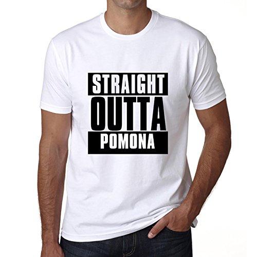 Cityone T Shirt Magliette Uomo Manica Corta Straight Outta Pomona Maglietta Uomo Regalo