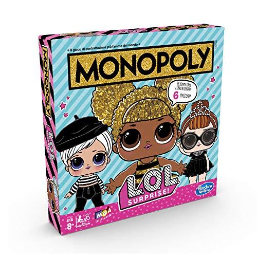 Image 1 - Hasbro Monopoly – Jeu Monopoly L.O.L, multicolore, E7572103, version italienne