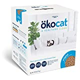 okocat Original Low-Dust Natural Wood Clumping Cat Litter with Odor Control, 19.8 lbs.