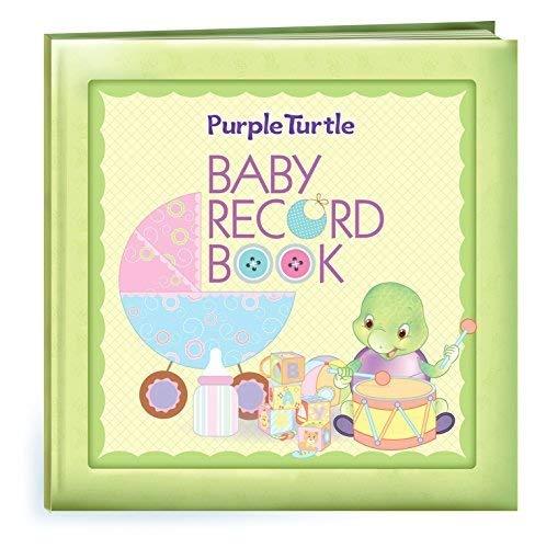 Purple Turtle Baby Record Book